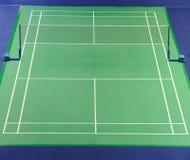 羽毛球场国际标准 免版税图库摄影