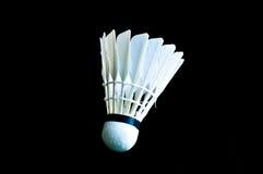羽毛球shuttlecock的详细的特写镜头 库存照片