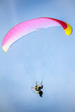 滑翔伞 图库摄影