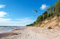 滑翔伞7 图库摄影