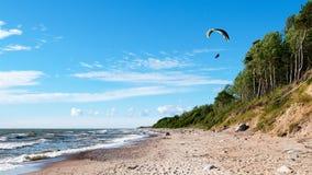 滑翔伞6 免版税图库摄影