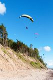 2滑翔伞 免版税图库摄影