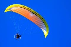 滑翔伞001 图库摄影