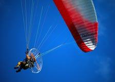 滑翔伞013 图库摄影