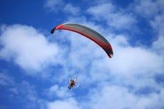 滑翔伞012 免版税库存照片