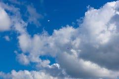 滑翔机,天空,云彩 免版税库存图片