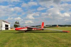 滑翔机L-13 Blanik 库存照片