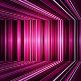 翘曲的抽象紫色镶边背景 库存照片