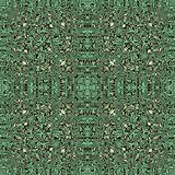翘曲的条纹、泼溅物和使有大理石花纹的形状纹理的抽象无缝的样式例证 库存例证