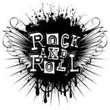 翼岩石和roll_var 1 免版税库存照片