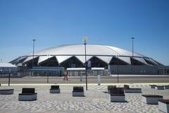 翼果竞技场橄榄球场 在2018年翼果-主持世界杯足球赛的城市在俄罗斯 库存图片