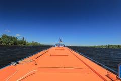 水翼艇客轮 免版税图库摄影