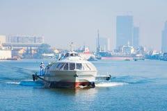 水翼艇西贡- Vungtau 免版税图库摄影