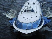 水翼艇 库存图片