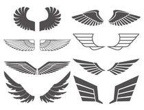 翼设置了2 免版税库存照片