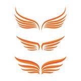 翼鸟集合 免版税图库摄影