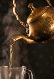 老东方茶壶 库存图片