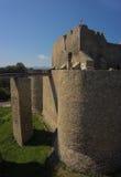 老中世纪城堡在欧洲 免版税库存照片