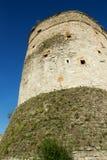 老中世纪城楼 免版税库存图片