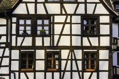 老中世纪房子,史特拉斯堡 库存照片