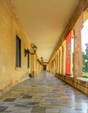 老中世纪走廊 免版税库存照片
