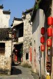 老中国房子 免版税图库摄影