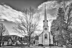 老主教制度的教会在中央内华达 免版税库存图片