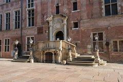 老主要城镇厅在格但斯克,波兰 免版税库存照片