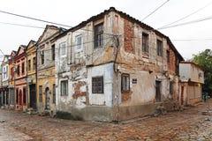 老义卖市场房子 库存照片