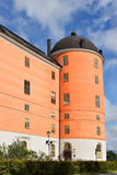 老乌普萨拉城堡塔 免版税库存图片