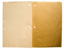 老书分类帐 免版税库存照片
