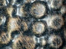老事使用的金属表面  免版税图库摄影