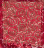老五颜六色的使用的礼品纸张背景 免版税库存图片