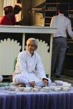 老人在Rajastan, Jaisalmer,印度, 2012年, 1月,第4 免版税库存照片