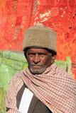 老人在Rajastan, Jaisalmer,印度, 2012年, 1月,第4 库存图片
