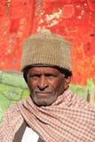 老人在Rajastan, Jaisalmer,印度, 2012年, 1月,第4 库存照片