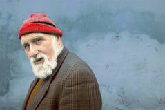 老人 免版税图库摄影
