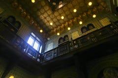 老伊斯兰教的宫殿在开罗,埃及 免版税图库摄影