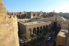 老伊斯兰教的宫殿在开罗,埃及 免版税库存图片