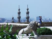 老伊斯兰教的开罗在埃及 免版税库存图片