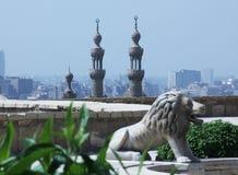 老伊斯兰教的开罗在埃及 免版税库存照片