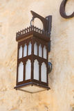 老伊斯兰教的灯 免版税库存图片