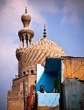 老伊斯兰教的邻里在开罗 库存照片