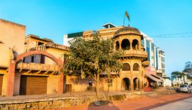 老传统房子在西坎德拉-阿格拉,印度 免版税图库摄影