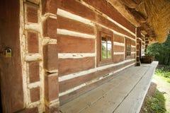 老传统房子 免版税库存照片