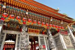 老传统三峰寺庙 库存图片