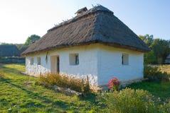 老传统农村房子 免版税图库摄影