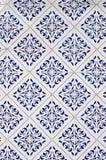 老传统葡萄牙azulejos 免版税库存图片
