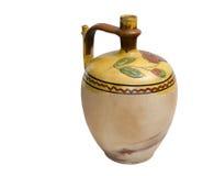 老传统葡萄酒水罐 免版税库存图片