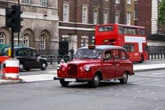 老伦敦出租汽车 免版税库存照片